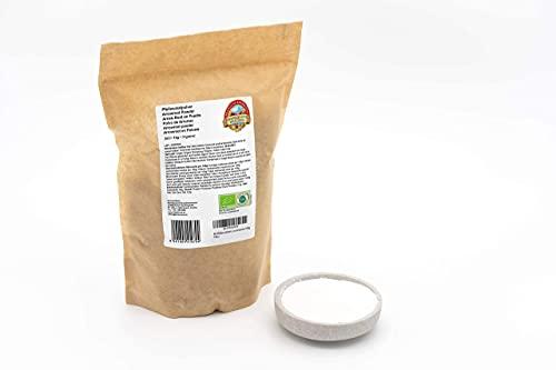 Bio Pfeilwurzelmehl – 1kg – 100% rein und naturbelassen – Glutenfreie Pfeilwurzelstärke – Rohkost – Vegan