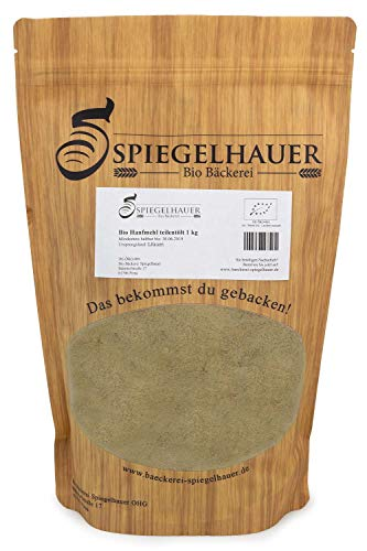 Bio Bäckerei Spiegelhauer Bio Hanfmehl 1 kg Hanfprotein 30% vegan laktosefrei glutenfrei