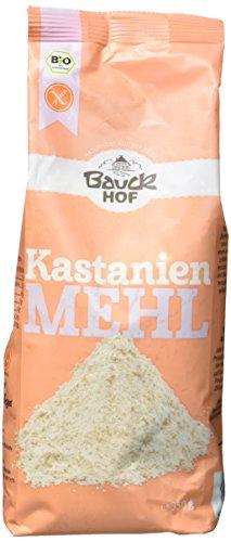 Bauckhof Kastanienmehl glutenfrei, 2er Pack (2 x 350 g) - Bio