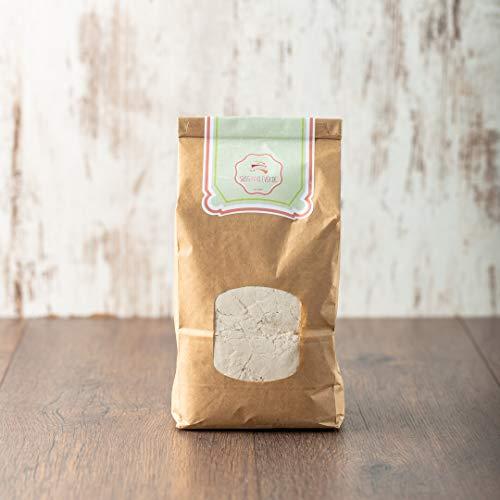 süssundclever.de® Bio Kastanienmehl   1 kg   gemahlene Esskastanien   plastikfrei und ökologisch-nachhaltig abgepackt