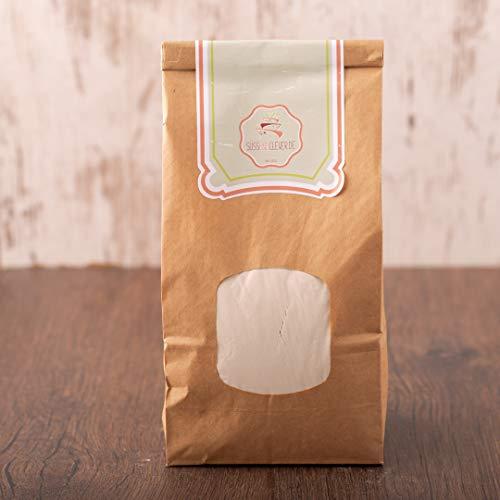 süssundclever.de® Reismehl Vollkorn Bio   5kg (5 x 1kg)   Premium Qualität: hochwertiges Naturprodukt   plastikfrei abgepackt in ökologisch-nachhaltiger Bio-Verpackung   Vollkorn-Reismehl