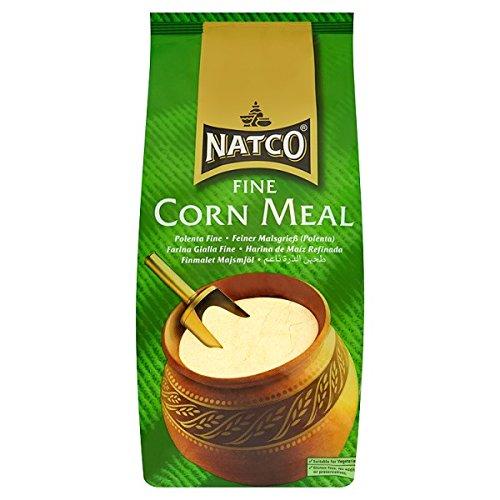 Natco Feines Maismehl Polenta Fein 1.5kg (Packung mit 1,5 kg)