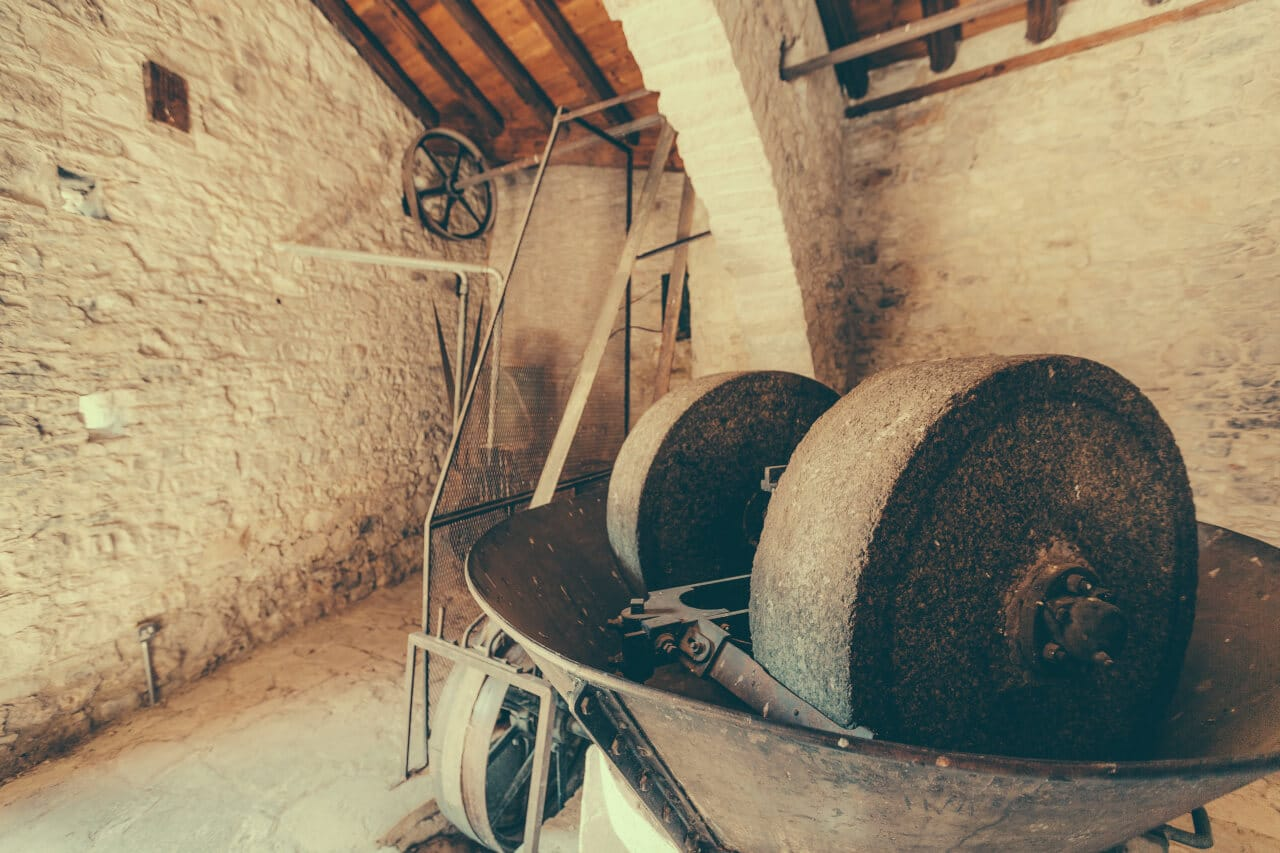 Historische Ölmühle