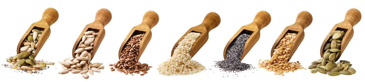 Ölhaltige Saaten für kaltgepresste Speiseöle