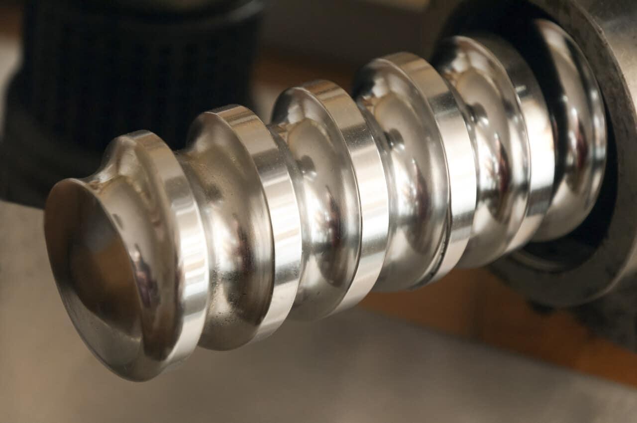 Press-Schnecke einer Ölpresse